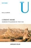 Henry Laurens - L'Orient arabe - Arabisme et islamisme de 1798 à 1945.