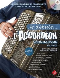 Henry Lemarchand et Jean-Michel Trotoux - L'accordéon - Chromatique à basses standards ou composées. 1 CD audio