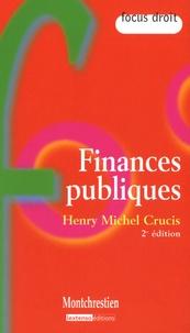 Henry-Michel Crucis - Finances publiques.