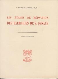 Henry Pinard de la Boullaye - Les étapes de rédaction des Exercices de Saint-Ignace.