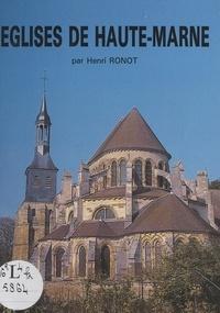Henry Ronot et Léon Gigot - Églises de Haute-Marne.