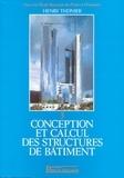 Henry Thonier - Conception et calcul des structures de bâtiment - Tome 3.