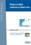 Henry Thonier - Poutres et dalles continues en béton armé - Calcul des continuités par redistribution limitée ou par analyse plastique, d'après la norme NF EN 1992-1-1 : 2005 (Eurocode 2, partie 1-1).