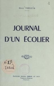 Henry Vézian - Journal d'un écolier.