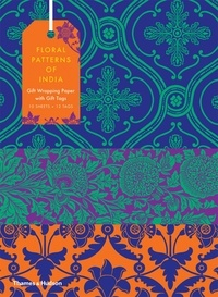 Deedr.fr Floral patterns of india giftwrapping paper book Image