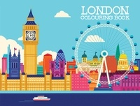 Heo Min - London coloring book.
