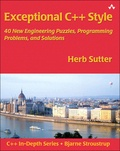 Herb Sutter - Exceptional C++ Style.