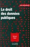 Herbert Maisl - Le droit des données publiques.
