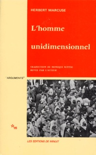 Herbert Marcuse - L'HOMME UNIDIMENSIONNEL.