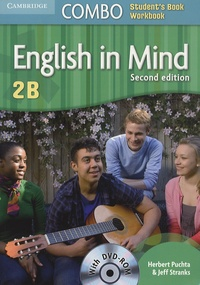 Herbert Puchta et Jeff Stranks - English in Mind Combo 2B - Student's Book. 1 DVD