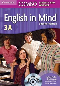 Herbert Puchta et Jeff Stranks - English in Mind Combo 3A - Student's Book and Workbook. 1 DVD