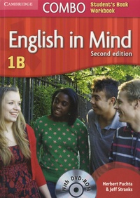 Herbert Puchta et Jeff Stranks - English in Mind Level 1B - Combo Student's Book Workbook.