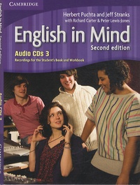 Herbert Puchta et Jeff Stranks - English in Mind - Recordings for the Student's Book and Workbook. 3 CD audio