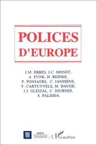 Herbert Reinke et  Collectif - Polices d'Europe.