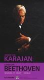 "Herbert von Karajan - Ludwig van Beethoven - Symphonies numéro 1, numéro 2 et numéro 3 ""Héroïque"". 2 CD audio"