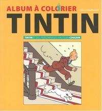 Hergé - Album a colorier - des pers. hauts en couleur.