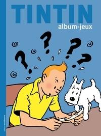 Hergé - Album jeux tintin.