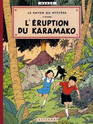 Hergé - Les aventures de Jo, Zette et Jocko  : Le rayon du mystère - Episode 2 :  L'Eruption du Karamako.
