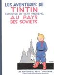 Hergé - Les Aventures de Tintin  : Au pays des Soviets - Edition fac-similé en noir et blanc.