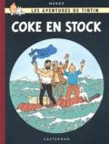 Hergé - Les Aventures de Tintin  : Coke en Stock - Edition fac-similé en couleurs.