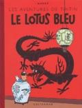 Hergé - Les Aventures de Tintin  : Le Lotus bleu - Edition fac-similé en couleurs.