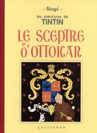 Hergé - Les Aventures de Tintin  : Le Sceptre d'Ottokar - Edition fac-similé en noir et blanc.