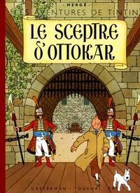 Hergé - Les Aventures de Tintin  : Le Sceptre d'Ottokar - Edition fac-similé en couleurs.