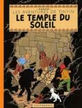 Hergé - Les Aventures de Tintin  : Le Temple du soleil - Edition fac-similé en couleurs.