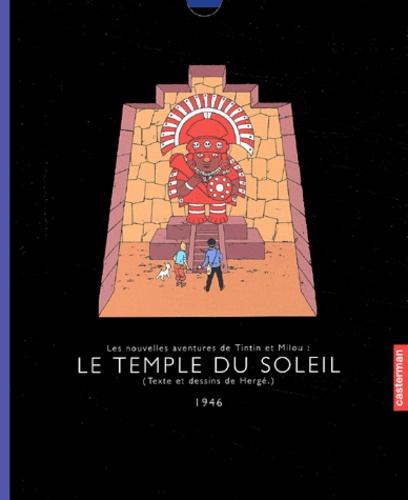 Aventures De Tintin Le Temple Du Soleil