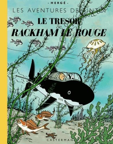 Hergé - Les Aventures de Tintin  : Le trésor de Rackham le Rouge - Edition grand format.