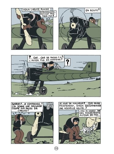 Les Aventures de Tintin  Reporter chez les Soviets -  -  Edition de luxe