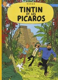 Hergé - Les Aventures de Tintin  : Tintin et les Picaros - Edition fac-similé en couleurs.