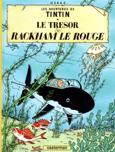 Hergé - Les Aventures de Tintin Tome 12 : Le trésor de Rackham le Rouge.