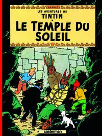 Hergé - Les Aventures de Tintin Tome 14 : Le temple du Soleil.