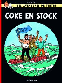 Hergé - Les Aventures de Tintin Tome 19 : Coke en stock.