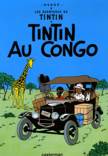 Hergé - Les Aventures de Tintin Tome 2 : Tintin au Congo - Mini-album.