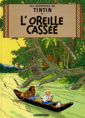 Hergé - Les Aventures de Tintin Tome 6 : L'oreille cassée - Mini-album.