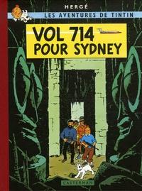 Hergé - Les Aventures de Tintin  : Vol 714 pour Sydney - Edition fac-similé.