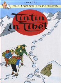 Hergé - The Adventures of Tintin Tome 20 : Tintin in Tibet.