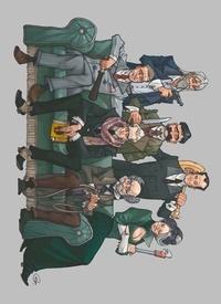 Herik Hanna et Sylvain Guinebaud - Détectives Intégrale : Coffret en 7 volumes : Miss Crumble ; Richard Monroe ; Ernest Patisson ; Martin Bec ; Frédérick Abstraight ; John Eaton ; Nathan Else.