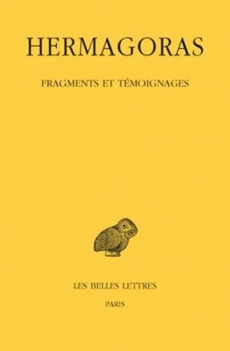 Hermagoras de Temnos - Fragments et témoignages.