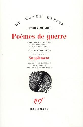 Herman Melville - Poèmes de guerre.