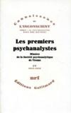 Herman Nunberg et Ernst Federn - Les premiers psychanalystes - Minutes de la Société psychanalytique de Vienne Tome 3 (1910-1911).