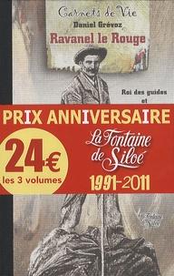 Hermann Berger et François Vacherand - Carnets d'un médecin de montagne ; François Vacherand raconte ses veillées ; Ravanel le rouge - Pack 3 volumes Carnets de Vie.