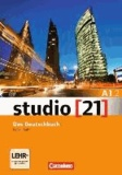 Hermann Funk et Christina Kuhn - studio 21 Grundstufe A1: Teilband 2. Kurs- und Übungsbuch mit DVD-ROM.