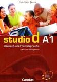 Hermann Funk - Studio D A1 - Kurs- und Übungsbuch, mit Lerner-CD. 1 CD audio