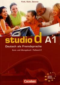 Blackclover.fr Studio d A1 - Kurs- und Ubungsbuch Teilband 2 Image