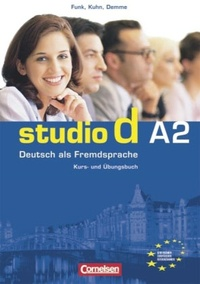 Hermann Funk - Studio d A2, Kurs- und Übungsbuch mit CD, Gesamtband 2.
