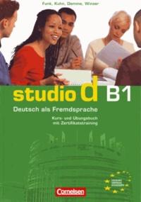 Hermann Funk - Studio D B1 - Kurs-und Übungsbuch mit Lerner-CD.