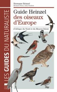 Hermann Heinzel - Guide Heinzel des oiseaux d'Europe, d'Afrique du Nord et du Moyen-Orient.